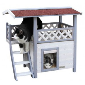 Maison pour chat ext rieur pet elevage for Abri exterieur chat