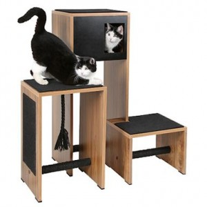 arbre chat meuble design pet elevage. Black Bedroom Furniture Sets. Home Design Ideas