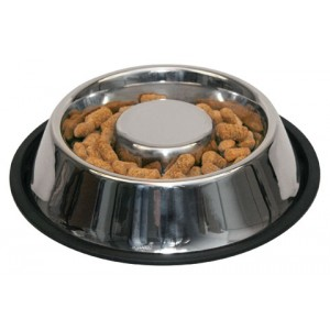 Gamelle Inox Antidérapante chien gourmand